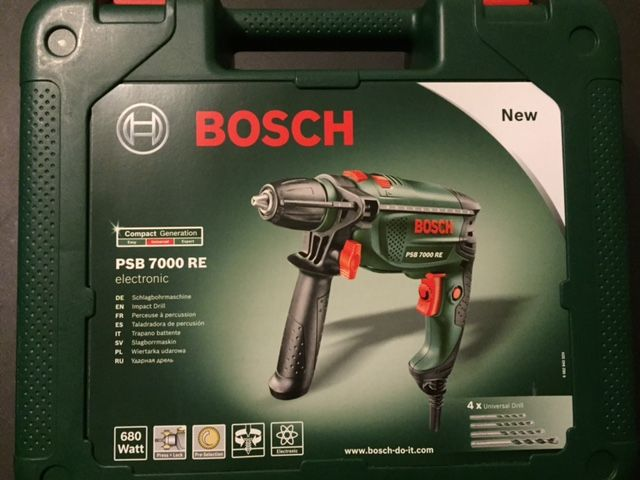 PERCEUSE FILAIRE PSB 7000 RE680 WATT. Location PERCEUSE A PERCUSSION BOSCH Rennes (35000)