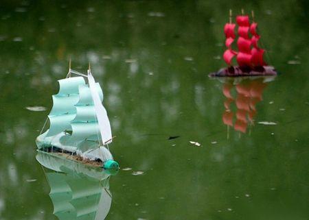 Кораблик своими руками для воды