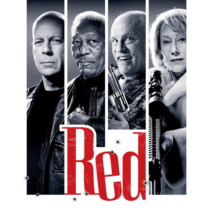 Red Movie--Same special effects explosions but the plot was somewhat creative and funny.  3 jujubes