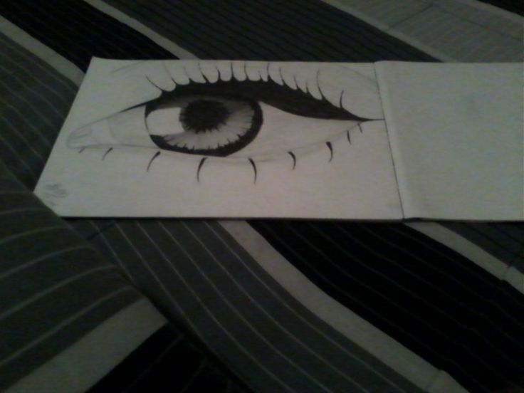 This my eye drawing