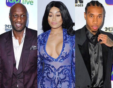 Reunion of the Kardashian Exes: Blac Chyna Parties With Tyga and Lamar Odom | E! News