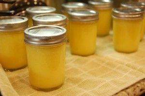 Homemade Lime or Lemon Curd (and safe home canning of lemon curd)