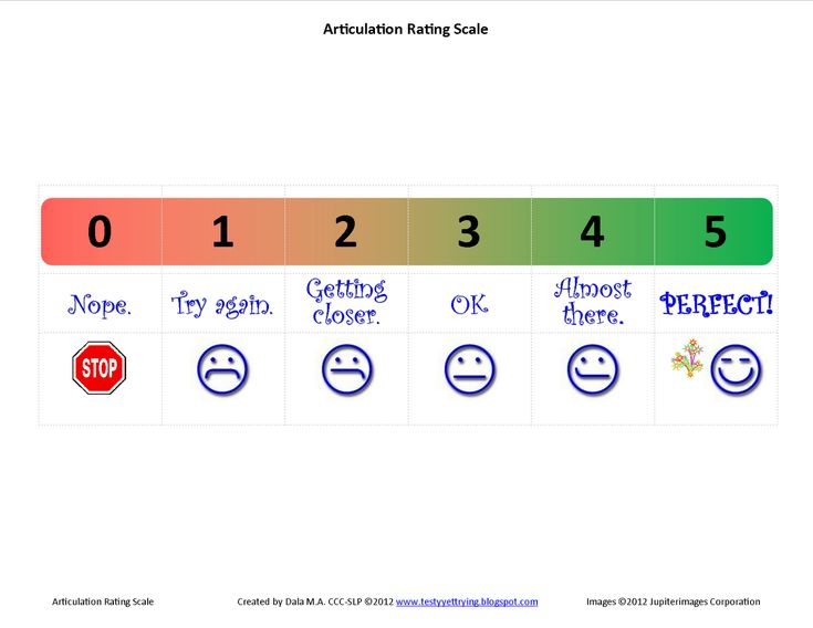 108 best PrintASAP images on Pinterest Articulation therapy - likert scale template