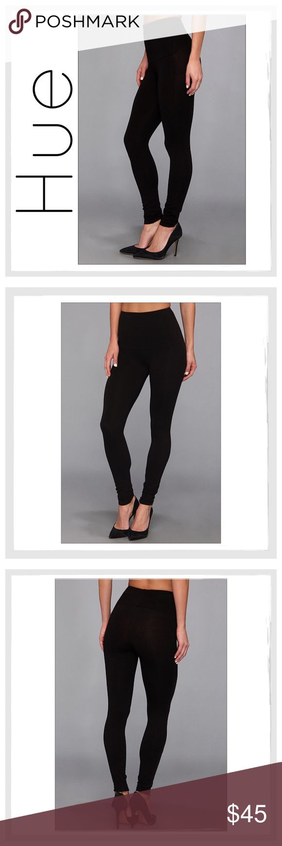 ✨HUE Black Ponte Shaping/Slimming Leggings✨ ✨HUE Black Ponte Shaping/Slimming Leggings✨The HUE high waist shaping ponte leggings use a mesh panel to hold and smooth the abdominal area, while a rayon and spandex blend slims and lifts the legs and buttocks✨The solid colored leggings are versatile and look great with bold prints or subdued solid hues. These full-length leggings extend to the ankles for a classic look✨Material: Rayon/Nylon/Spandex✨These Leggings Really So The Trick And Are…