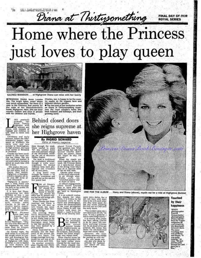 """April 6, 2017 – Princess Diana News Blog """"All Things Princess Diana"""""""