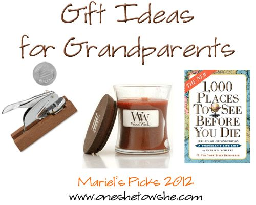 90 best gift ideas grandparents images on pinterest christmas gifts ideas for grandparents mariels picks 2012 solutioingenieria Image collections