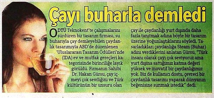 Steam - Hürriyet Gazetesi  / Dr.Hakan Gürsu - Designnobis.