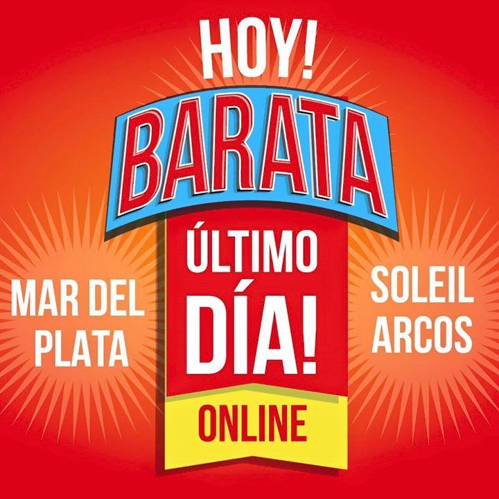 ÚLTIMO DÍA y nos despedimos de la BARTA por los próximos 3 AÑOS! Encontra Online en #Sarkany DREAMSTORE en Soleil Premium Outlet Distrito Arcos y en nuestros locales de Mar del Plata zapatos desde $300