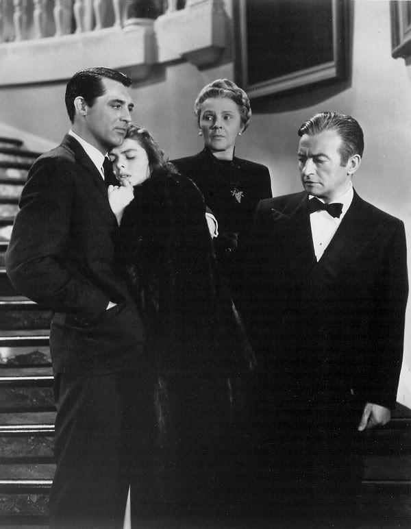 'Notorious' (1946). Starring, Cary Grant, Ingrid Berman, and Claude Rains