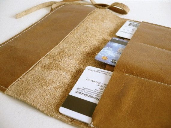 кожаный бумажник чековой книжки обложка для записной книжки handprinted по inblue