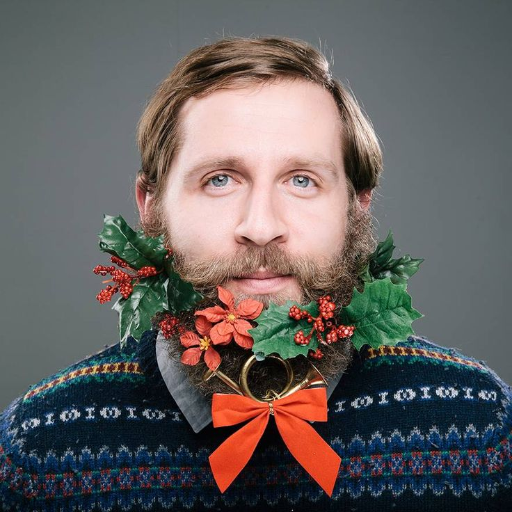 12 beards of Christmas: Holly and french horn