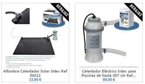 ¡Buenos días! Esperamos estéis disfrutando de la semana. Os mostramos algunos modelos de calentadores para piscinas de la marca Intex. Visítanos y disfruta de las mejores marcas al precio más competitivo. ¡Grandes descuentos te esperan! http://www.top-piscinas.com/accesorios-para-piscinas-climatizacion/calentador-electrico-intex-para-piscinas-de-hasta-457-cm-ref-56684.html