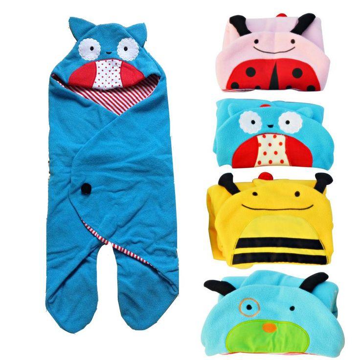 Vvcare BC-S01 Animales de dibujos animados infantiles bolsa de dormir Bedding Wad Swaddle manta Wrap Sleepsacks #babysleepsack