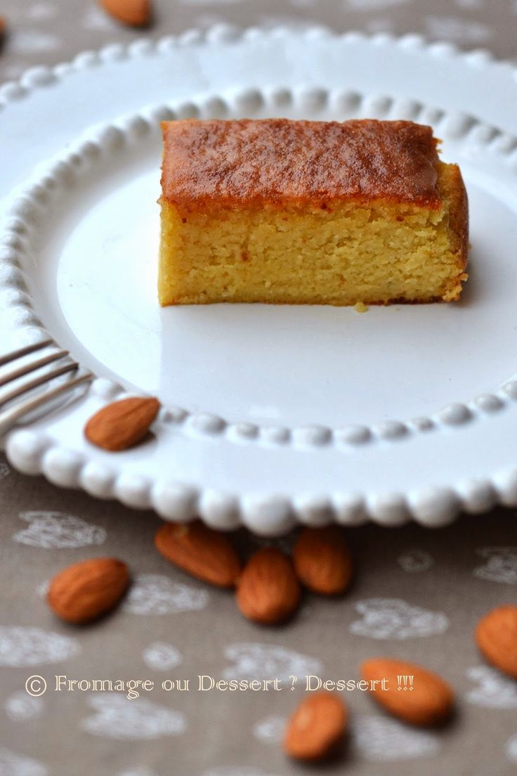 Fromage ou Dessert ? ... DESSERT !!!: Gâteau frangipane à IG bas