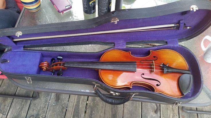 Authentic Antonio Curatoli stradivarius violin 1919 No. 2737 Brazilwood bow | Musical Instruments & Gear, String, Orchestral | eBay!