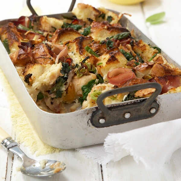 Tuck into savoury-bread-(and-no-butter)-pudding this winter. #picknpay