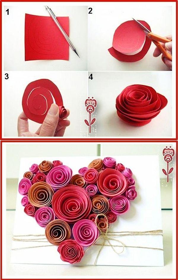 40 Homemade Valentine S Day Art Craft Ideas 2019 Paper Flowers Diy Flower Crafts Homemade Valentines