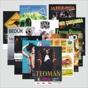 50x70 cm. kuşe poster - afiş baskılar tüm kredi kartlarına 12 ay taksit imkanı ile Beyoğlu pera matbaa da imal edilmektedir.