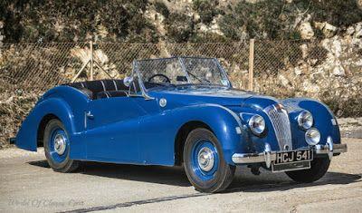 World Of Classic Cars: Lea Francis 2½ Litre Westland Sports 1950 - World ...