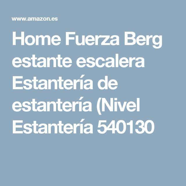Home Fuerza Berg estante escalera Estantería de estantería (Nivel Estantería 540130
