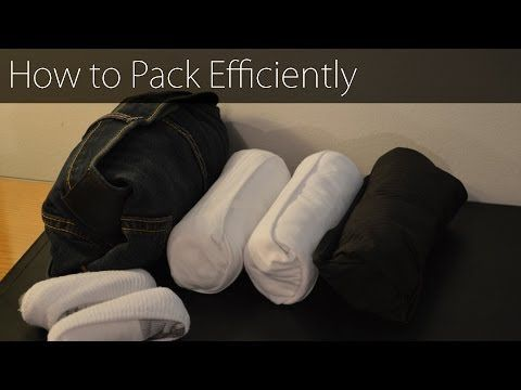 How to Pack Clothes for Traveling (with Pictures) the video is the most helpful.