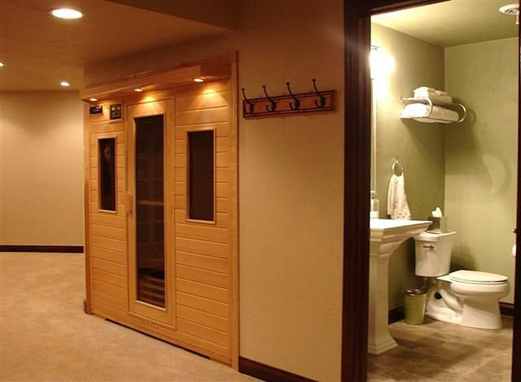 Wow house basement sauna say wha images frompo for Building a sauna in the basement