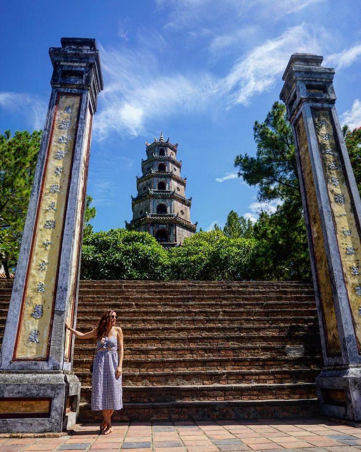 """39 """"Μου αρέσει!"""", 3 σχόλια - Irena World Traveller ✈️ (@irena.traveller) στο Instagram: """"Thien Mu Pagoda  #nofilter #postcardsfromtheworld #worldplaces #wanderlust #travel #traveldeeper…"""""""