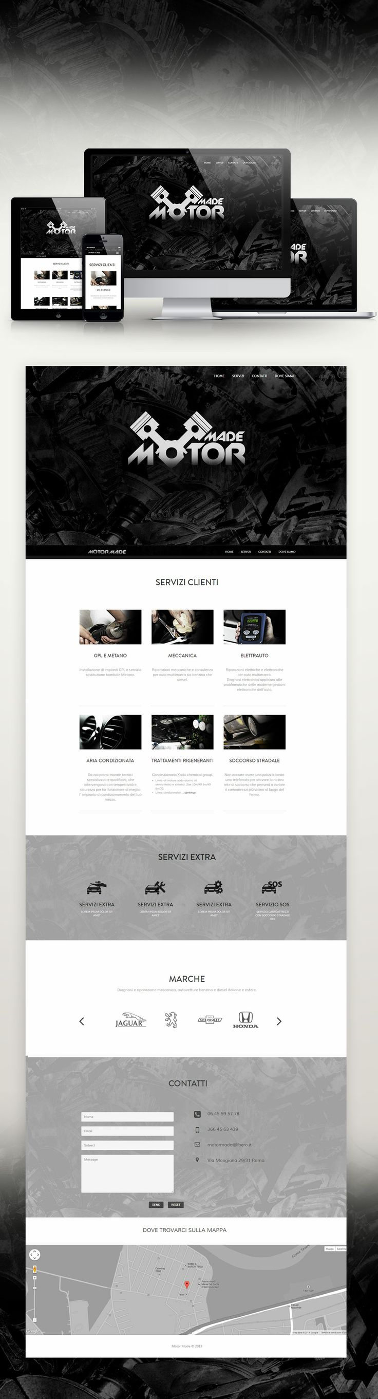 SIMONE BOI | GRAPHIC DESIGNER  sito Motor Made