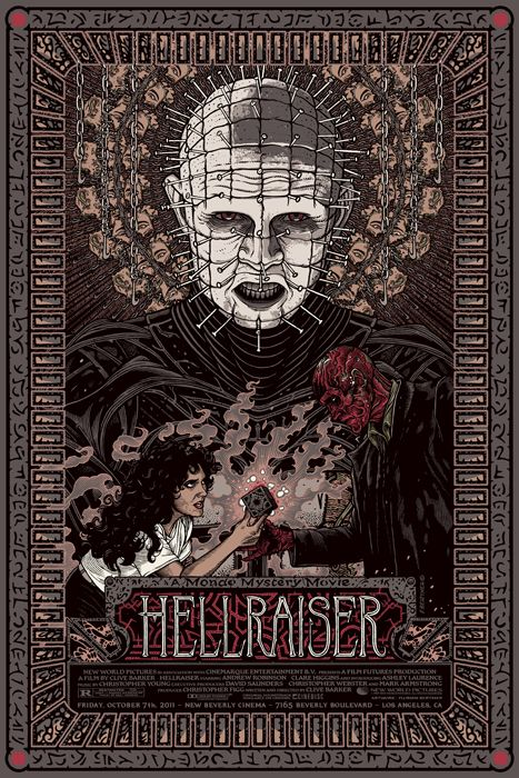 Mondo Tees Poster Art - THE IRON GIANT, HELLRAISER, THE MIST and More - News - GeekTyrant