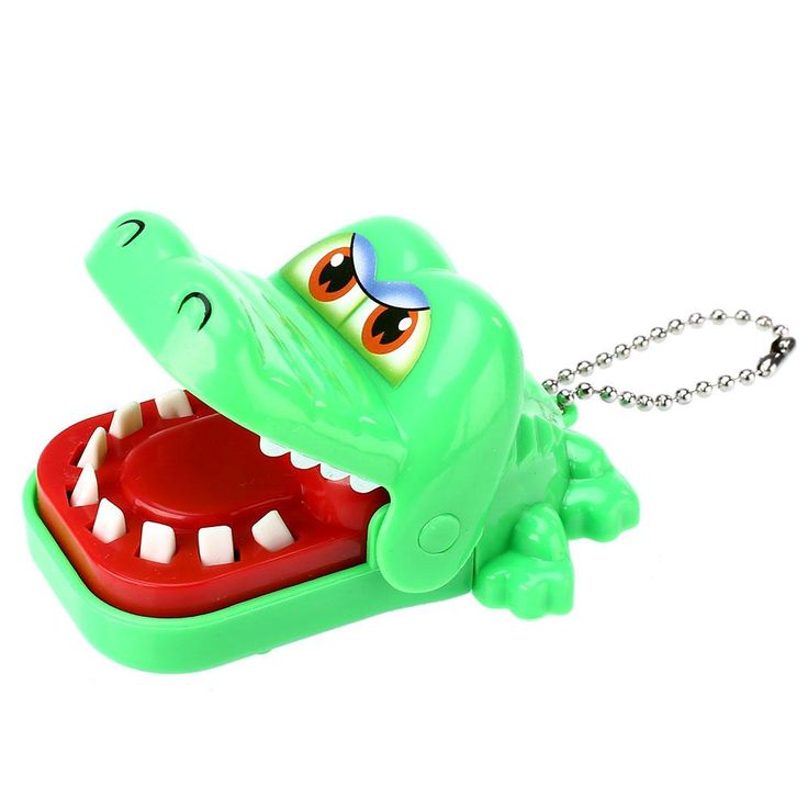 Crocodile Mouth Dentist Bite Finger Funny Creative Toy Gift Kids Child Family