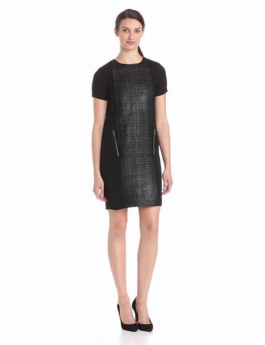 Amazon.com: Kenneth Cole New York Women's Jacquelyn Dress, Black, 6: Clothing