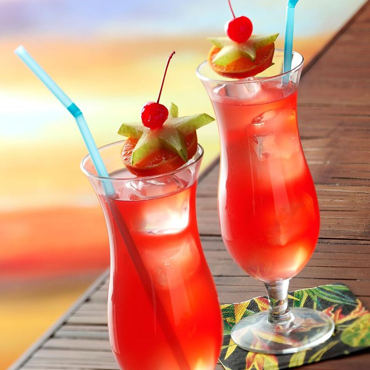 Passion Fruit Hurricanes Recipe -This is our Test Kitchen's version of the famous Hurricane beverage that's so popular in New Orleans. —Taste of Home Test Kitchen, Greendale, Wisconsin