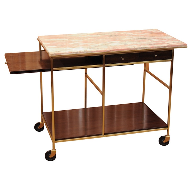 Paul McCobb Serving Cart