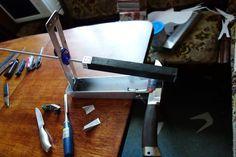 Как сделать точилку для ножей. (Точилка Строгова) | Сайт о рыбалке и не только