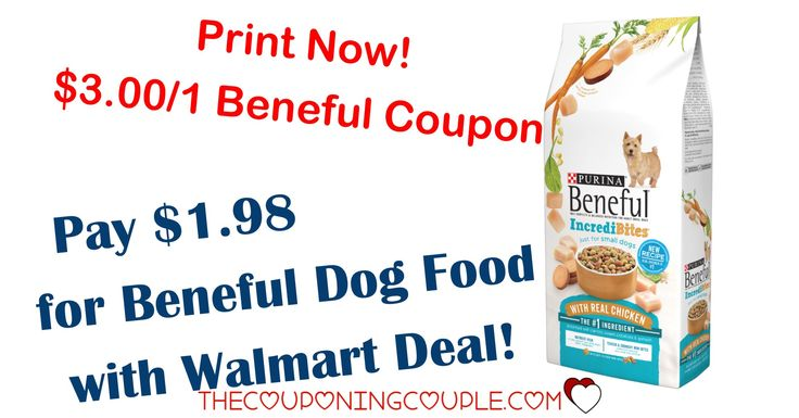 PRINT NOW! Print a high value $3.00/1 Beneful Dog Food coupon! Snag bags for as low as $1.98 at Walmart!   Click the link below to get all of the details ► http://www.thecouponingcouple.com/beneful-dog-food/ #Coupons #Couponing #CouponCommunity  Visit us at http://www.thecouponingcouple.com for more great posts!