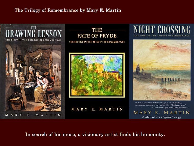 Award winning novels of The Trilogy of Remembrance.  Learn more: http://maryemartintrilogies.com/the-trilogy-of-remembrance/ AND http://www.amazon.com/author/maryemartin