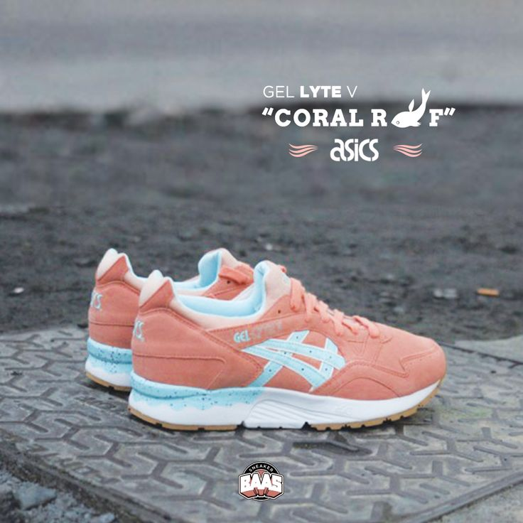 "#asics #gel #lyteV #coralreef #baasbovenbaas  Asics Gel Lyte V ""Coral Reef"" - Available online, priced at €124,95  For more info about your order please send an e-mail to webshop #sneakerbaas.com!"