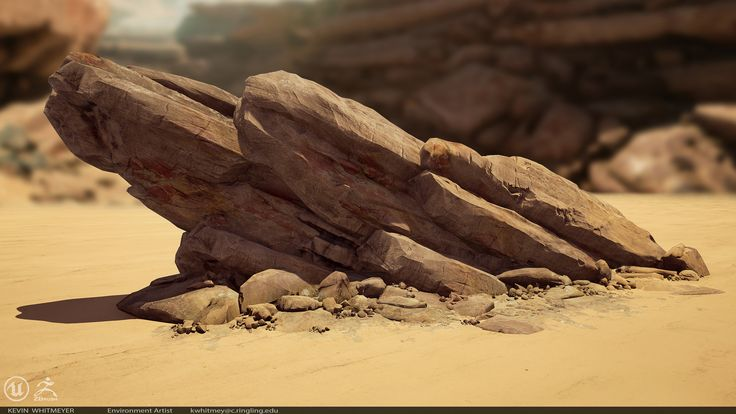 ArtStation - Desert Planet, Kevin Whitmeyer