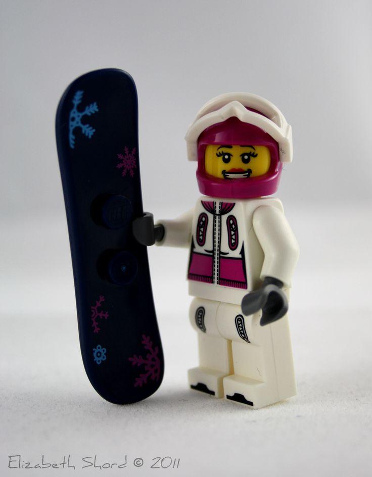 Lego Snowboard girl HerSportsGear.com I must have!!!