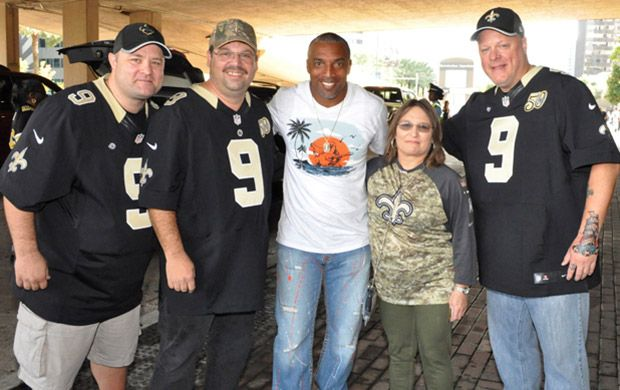 Lottery Second-Chance Winners Get Their Saints GAME ON