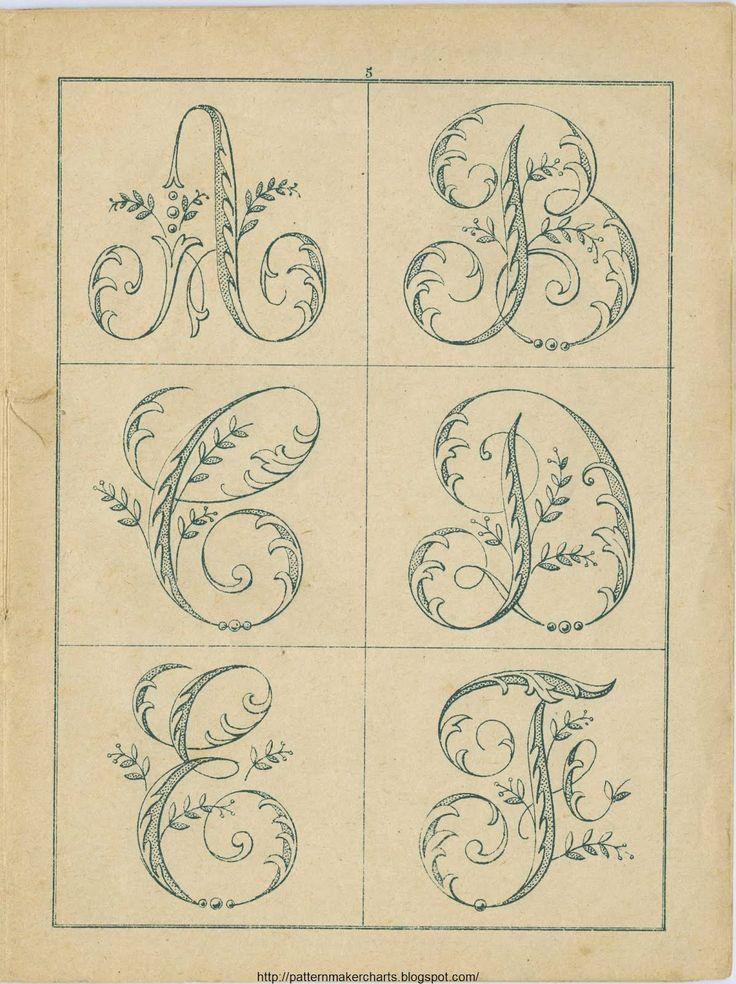 vintage needlework patterns