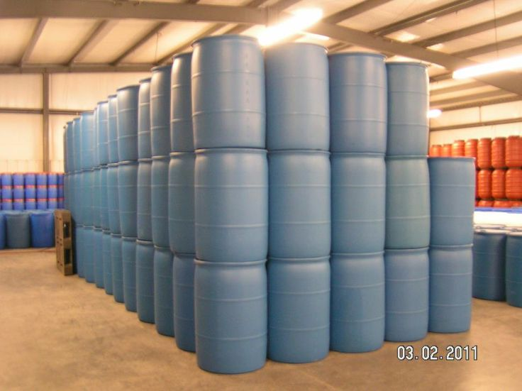 Reconditioned Poly Drums - Reusable Poly Drums - Reconditioned Drums,  Recycled Poly Drums, 55 Gallon Food Grade Tight Head Poly Drums, Reco...
