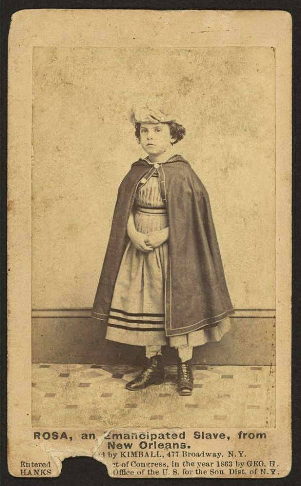 'White Slaves' of New Orleans. One of the many mixed race children considered suitable for slavery and subjected to prejudice.