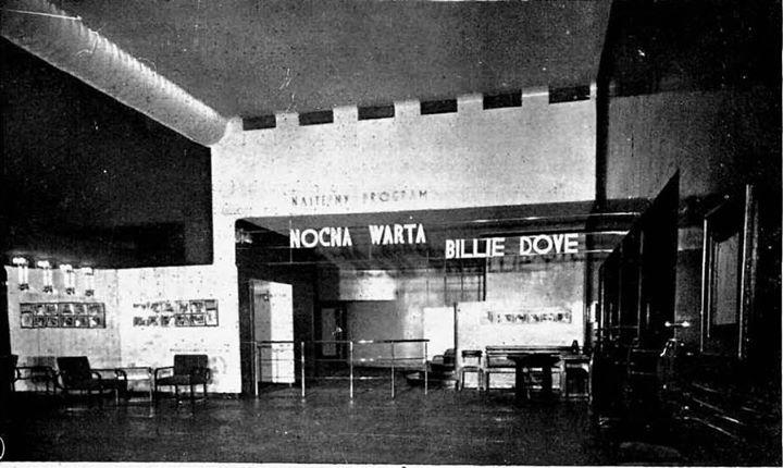 Kino Atlantic w 1930 #kinoatlantic