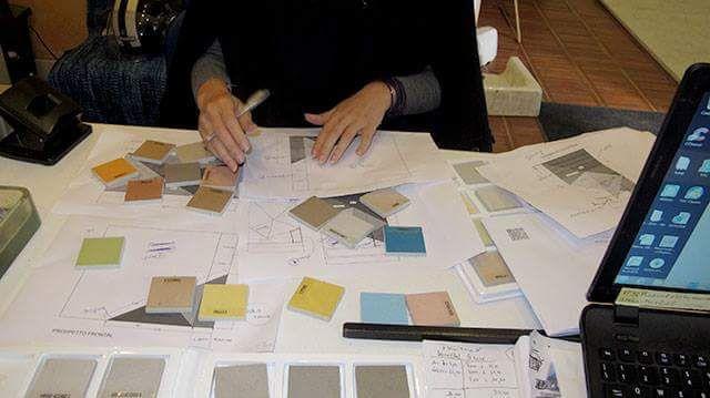 pavimento idee Microcemento : Il fascino dell?imperfezione. Dal pavimento ai mobili, passando per ...