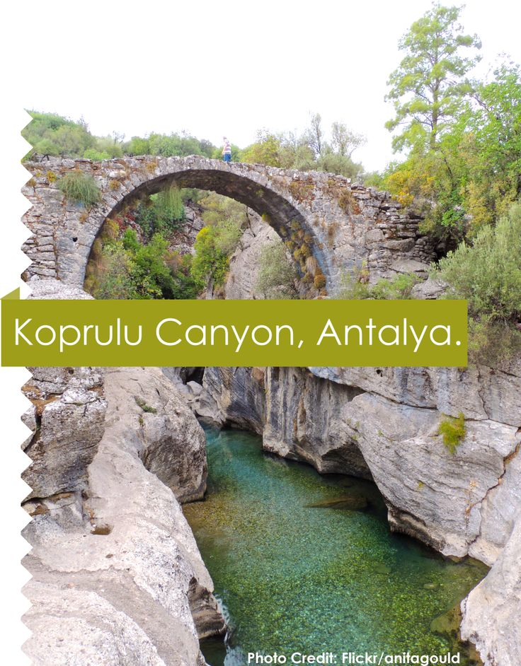Koprulu Canyon, A #canyon and a National Park in the Province of Antalya, #Turkey.