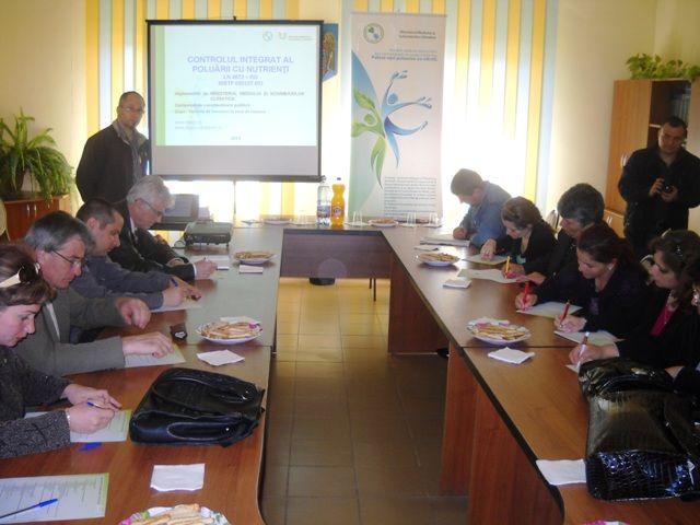 BĂLEȘTI județul GORJ – Seminar local pentru formare de formatori, educație ecologică