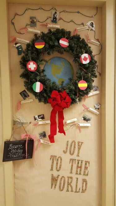 1000 images about christmas door decor for work on for Christmas decorations near me