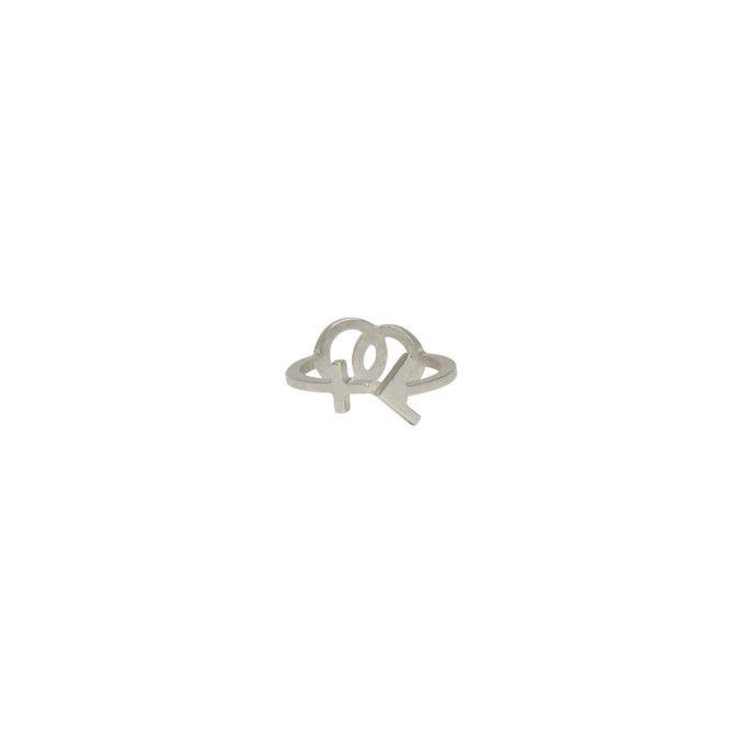 Maison Margiela - Silver Gender Sign Ring