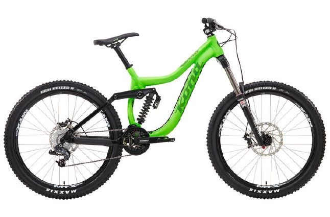 Kona Entourage 2014 Downhill Mountain Bike